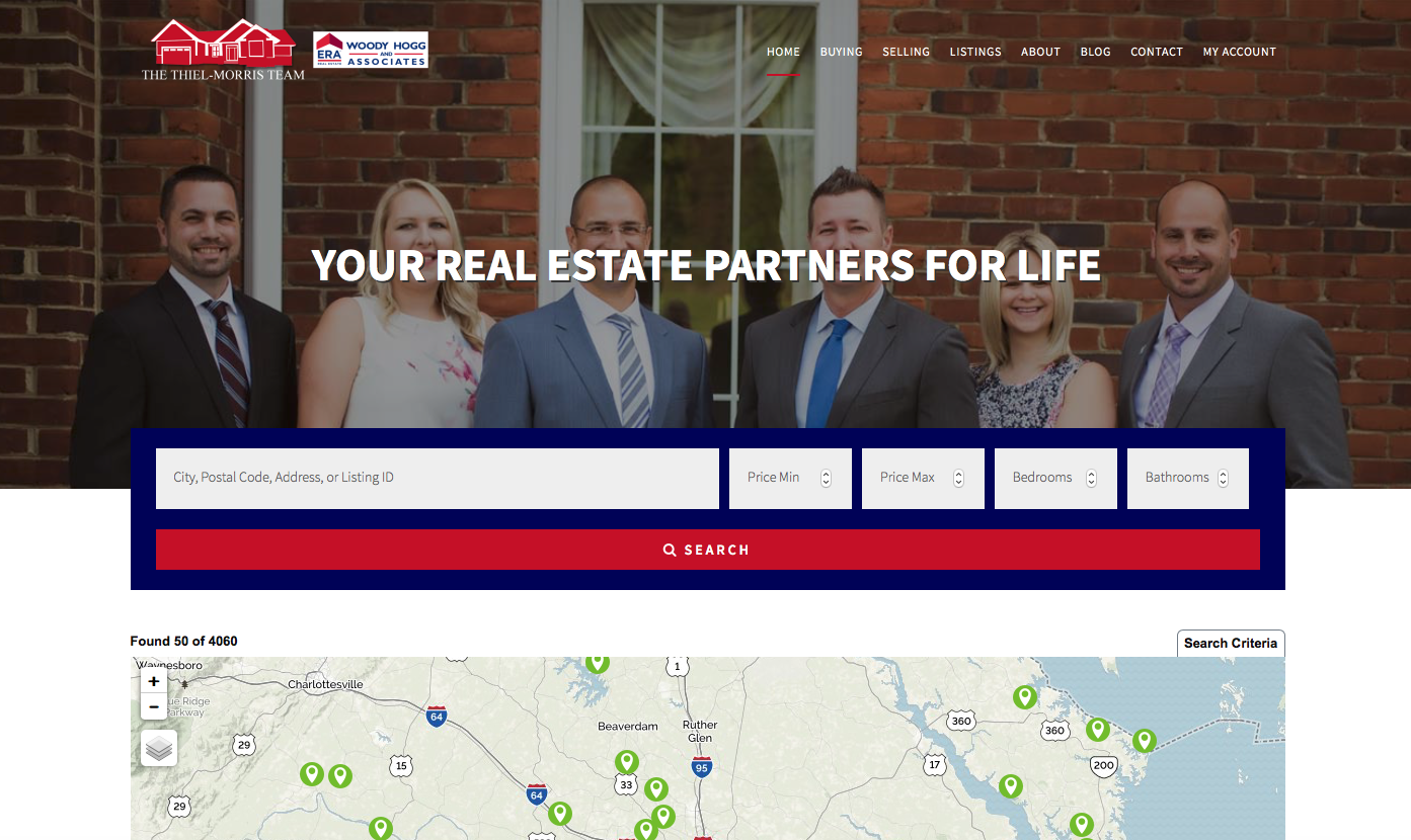 the-thiel-morris-team-website