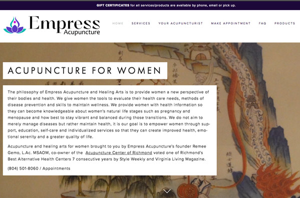website-design-richmond-virginia-empress-acupuncture