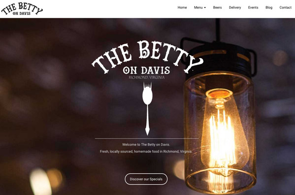 website-design-richmond-virginia-the-betty-on-davis